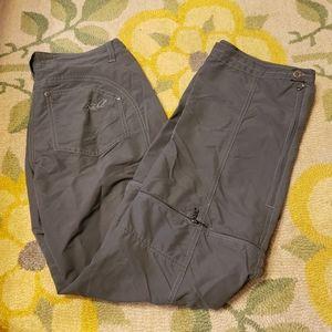 Kuhl womens green convertable pants
